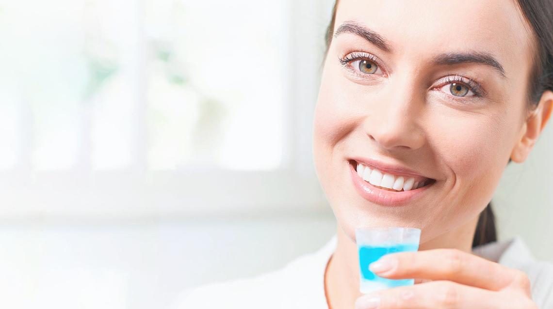 Arcticfresh - диспенсер с ополаскивателем для полости рта